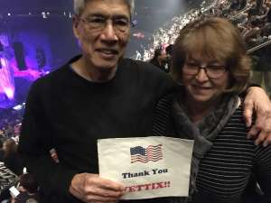 Stanley attended Cher: Here We Go Again Tour on Dec 4th 2019 via VetTix