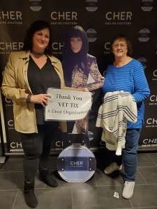 Robert attended Cher: Here We Go Again Tour on Dec 4th 2019 via VetTix