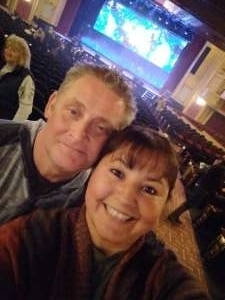 Anthony attended Cirque Musica Presents Holiday Wishes on Dec 4th 2019 via VetTix