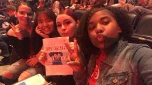 Daniel attended Ariana Grande - Sweetener Tour on Dec 5th 2019 via VetTix
