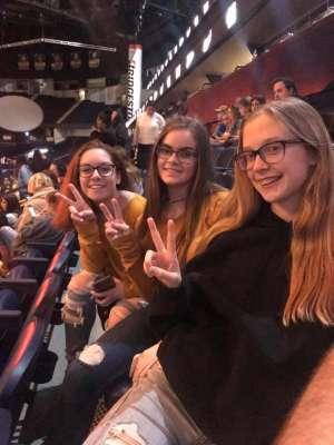 Wesley attended Ariana Grande - Sweetener Tour on Dec 5th 2019 via VetTix