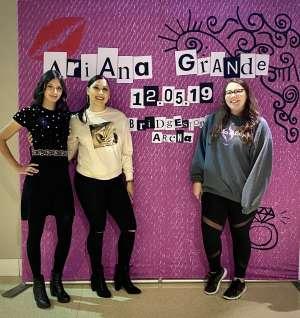 Ariel attended Ariana Grande - Sweetener Tour on Dec 5th 2019 via VetTix