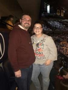 Robert attended Ariana Grande - Sweetener Tour on Dec 5th 2019 via VetTix