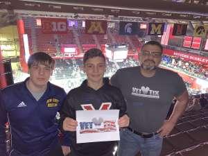 Edwin attended Rutgers Scarlet Knights vs. Maryland Terrapins - NCAA Wrestling on Dec 7th 2019 via VetTix