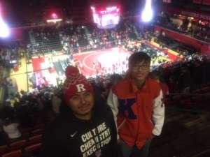 Christopher attended Rutgers Scarlet Knights vs. Maryland Terrapins - NCAA Wrestling on Dec 7th 2019 via VetTix