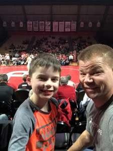 Kurt attended Rutgers Scarlet Knights vs. Maryland Terrapins - NCAA Wrestling on Dec 7th 2019 via VetTix