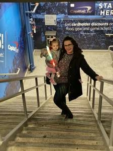 Kory attended Disney on Ice Presents Celebrate Memories on Feb 13th 2020 via VetTix