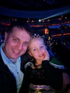 David attended Disney on Ice Presents Celebrate Memories on Feb 13th 2020 via VetTix