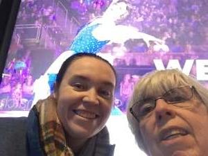 Arthur attended Disney on Ice Presents Celebrate Memories on Feb 13th 2020 via VetTix