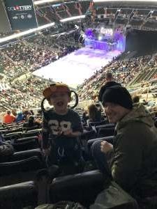 Daniel attended Disney on Ice Presents Celebrate Memories on Feb 13th 2020 via VetTix