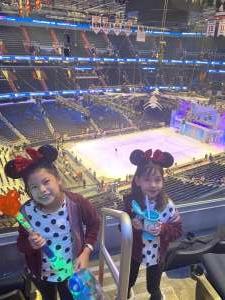 JessieLee attended Disney on Ice Presents Celebrate Memories on Feb 13th 2020 via VetTix