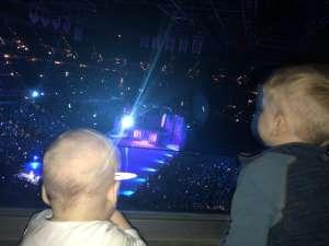 Dane attended Disney on Ice Presents Celebrate Memories on Feb 13th 2020 via VetTix