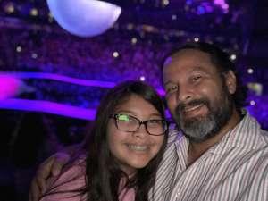 Steve attended Ariana Grande: Sweetener World Tour on Dec 1st 2019 via VetTix
