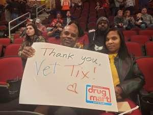 CAMETRIUS attended Cleveland Cavaliers vs. Milwaukee Bucks - NBA on Nov 29th 2019 via VetTix