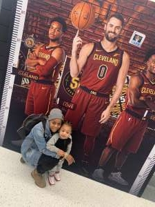 andreaa attended Cleveland Cavaliers vs. Milwaukee Bucks - NBA on Nov 29th 2019 via VetTix