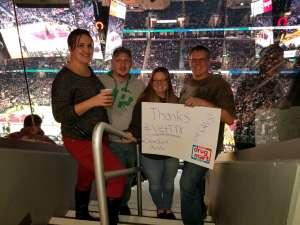 Charles attended Cleveland Cavaliers vs. Milwaukee Bucks - NBA on Nov 29th 2019 via VetTix