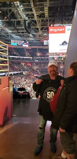 Mark attended Cleveland Cavaliers vs. Milwaukee Bucks - NBA on Nov 29th 2019 via VetTix