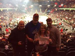 Tony attended Cleveland Cavaliers vs. Milwaukee Bucks - NBA on Nov 29th 2019 via VetTix