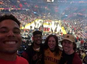 Dustin attended Cleveland Cavaliers vs. Milwaukee Bucks - NBA on Nov 29th 2019 via VetTix
