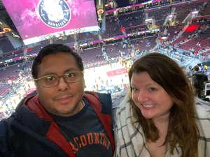 Hector attended Cleveland Cavaliers vs. Milwaukee Bucks - NBA on Nov 29th 2019 via VetTix