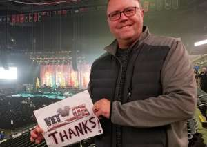 Christian attended Amy Grant & Michael W. Smith on Dec 1st 2019 via VetTix
