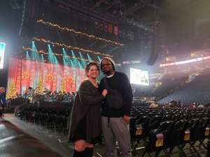 Christine attended Amy Grant & Michael W. Smith on Dec 1st 2019 via VetTix
