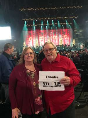 keith attended Amy Grant & Michael W. Smith on Dec 1st 2019 via VetTix