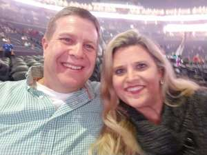 Brent attended Amy Grant & Michael W. Smith on Dec 1st 2019 via VetTix