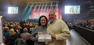 Kevin attended Amy Grant & Michael W. Smith on Dec 1st 2019 via VetTix