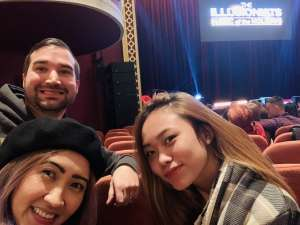 Brad attended The Illusionists - Magic of the Holidays on Dec 3rd 2019 via VetTix