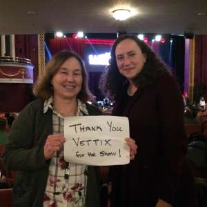 Karen attended The Illusionists - Magic of the Holidays on Dec 3rd 2019 via VetTix