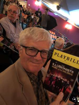 Arthur attended The Illusionists - Magic of the Holidays on Dec 3rd 2019 via VetTix