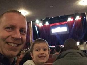 Stewart attended The Illusionists - Magic of the Holidays on Dec 3rd 2019 via VetTix