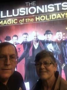 Mark attended The Illusionists - Magic of the Holidays on Dec 3rd 2019 via VetTix