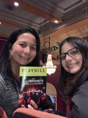 DENISE attended The Illusionists - Magic of the Holidays on Dec 3rd 2019 via VetTix