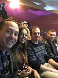 Nick attended The Illusionists - Magic of the Holidays on Dec 3rd 2019 via VetTix