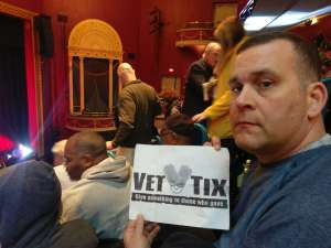 Cliff attended The Illusionists - Magic of the Holidays on Dec 3rd 2019 via VetTix