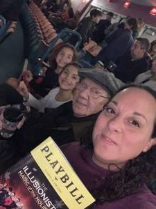 Maria attended The Illusionists - Magic of the Holidays on Dec 3rd 2019 via VetTix