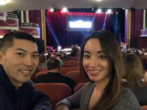Seiji attended The Illusionists - Magic of the Holidays on Dec 3rd 2019 via VetTix
