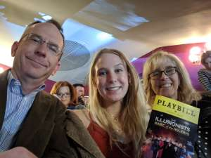 Alan attended The Illusionists - Magic of the Holidays on Dec 3rd 2019 via VetTix
