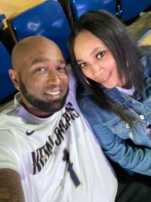 Travis attended New Orleans Pelicans vs. Oklahoma City Thunder - NBA on Dec 1st 2019 via VetTix