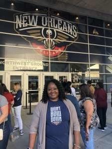 Shonda attended New Orleans Pelicans vs. Oklahoma City Thunder - NBA on Dec 1st 2019 via VetTix