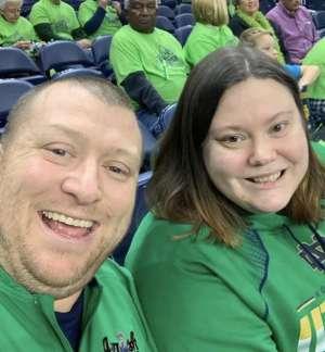 Jeffery attended Notre Dame Fighting Irish vs. Minnesota - NCAA Women's Basketball on Dec 4th 2019 via VetTix