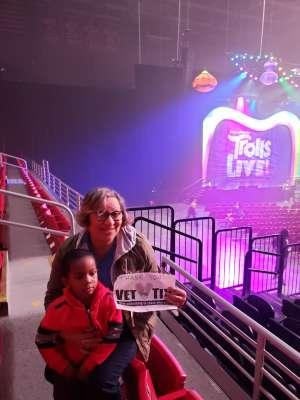 Rosalia attended Trolls Live! - Matinee Show - Presented by Vstar Entertainment on Dec 14th 2019 via VetTix