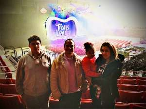 Edwin attended Trolls Live! - Matinee Show - Presented by Vstar Entertainment on Dec 14th 2019 via VetTix