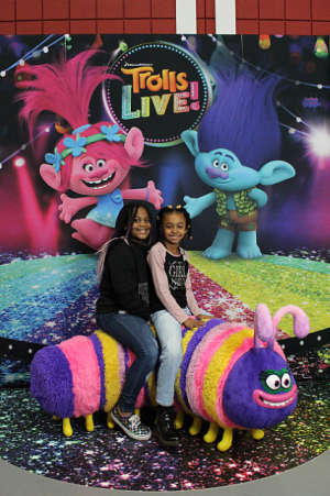Markee attended Trolls Live! - Matinee Show - Presented by Vstar Entertainment on Dec 14th 2019 via VetTix