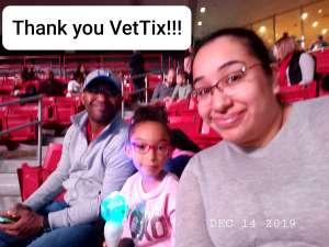 Vanessa attended Trolls Live! - Matinee Show - Presented by Vstar Entertainment on Dec 14th 2019 via VetTix