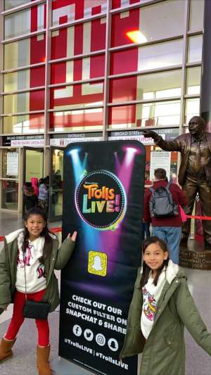JessieLee attended Trolls Live! - Matinee Show - Presented by Vstar Entertainment on Dec 14th 2019 via VetTix