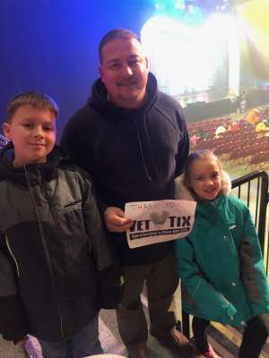 Eric attended Trolls Live! - Matinee Show - Presented by Vstar Entertainment on Dec 14th 2019 via VetTix