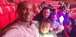 Jimmy G. attended Trolls Live! - Evening Show - Presented by Vstar Entertainment on Dec 14th 2019 via VetTix